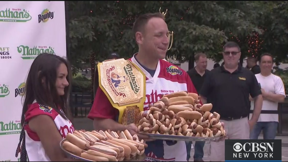 2021 Nathan's Famous Hot Dog Eating Contest Competitors ...