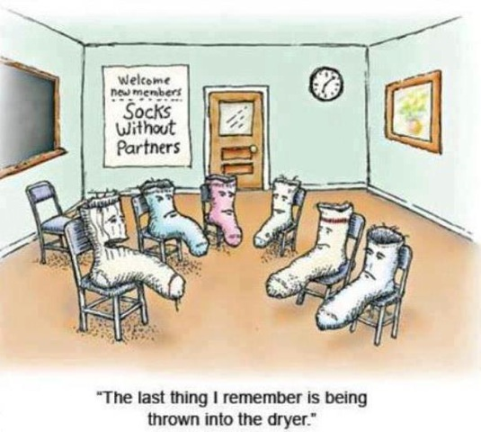 The Sock Discrimination and Other Crimes! | The happy Quitter!