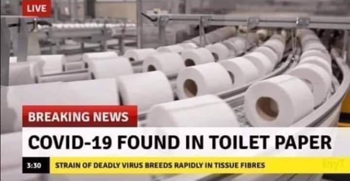 COVID-19 Found in Toilet Paper - Now8News