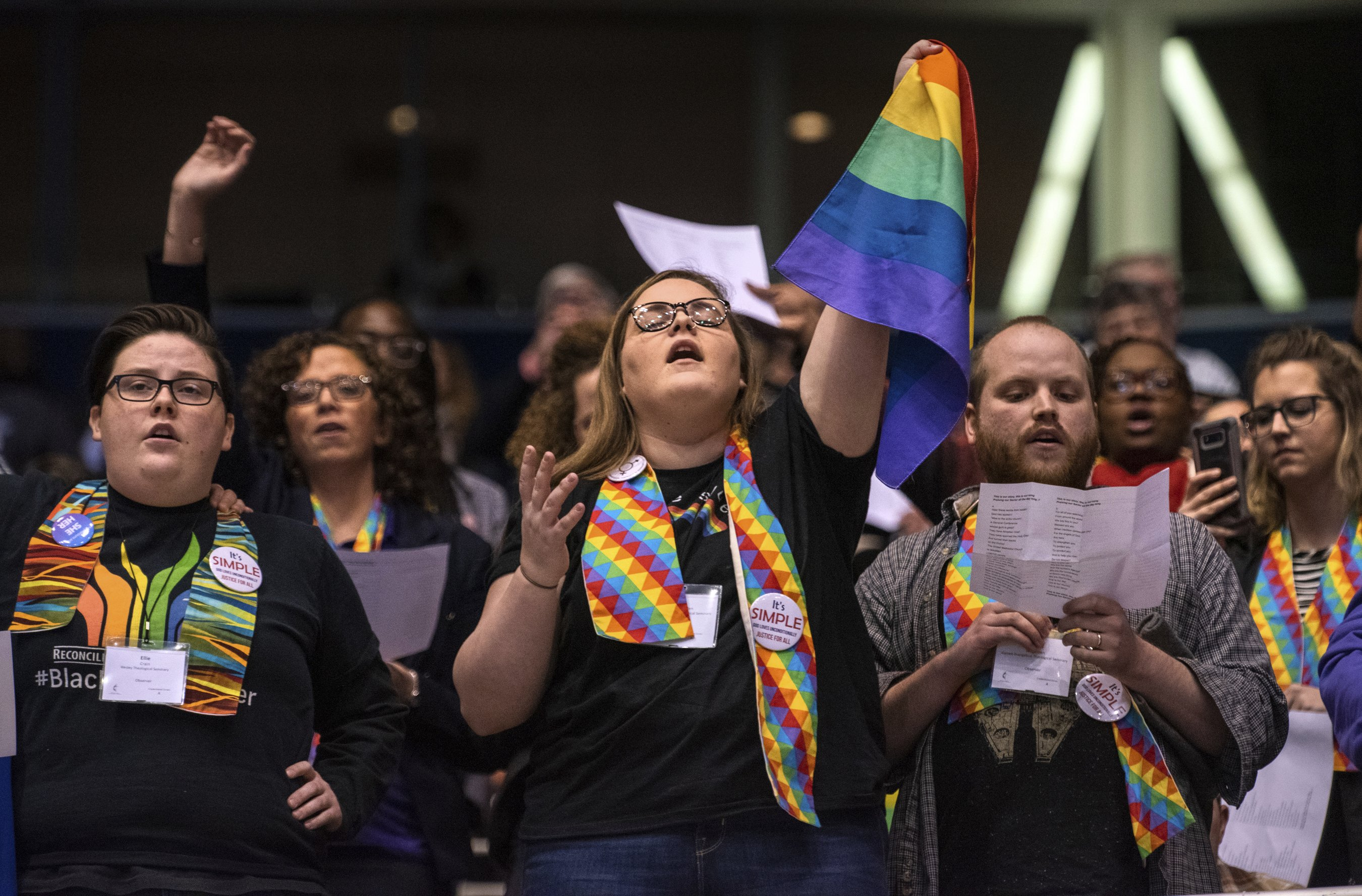 United Methodist Church announces plan to split over gay marriage, LGBTQ clergy