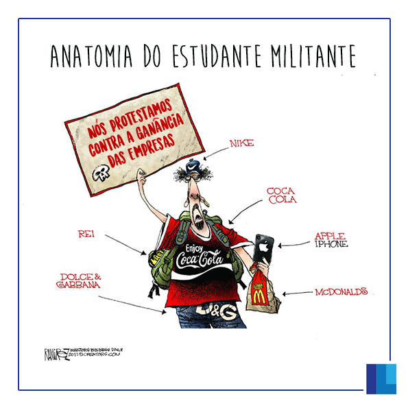 Charge do Dia - Instituto Liberal