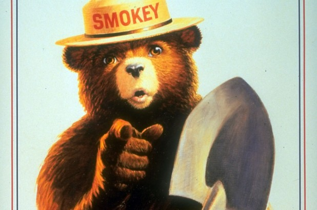 Why is Smokey Bear on TV so much lately?