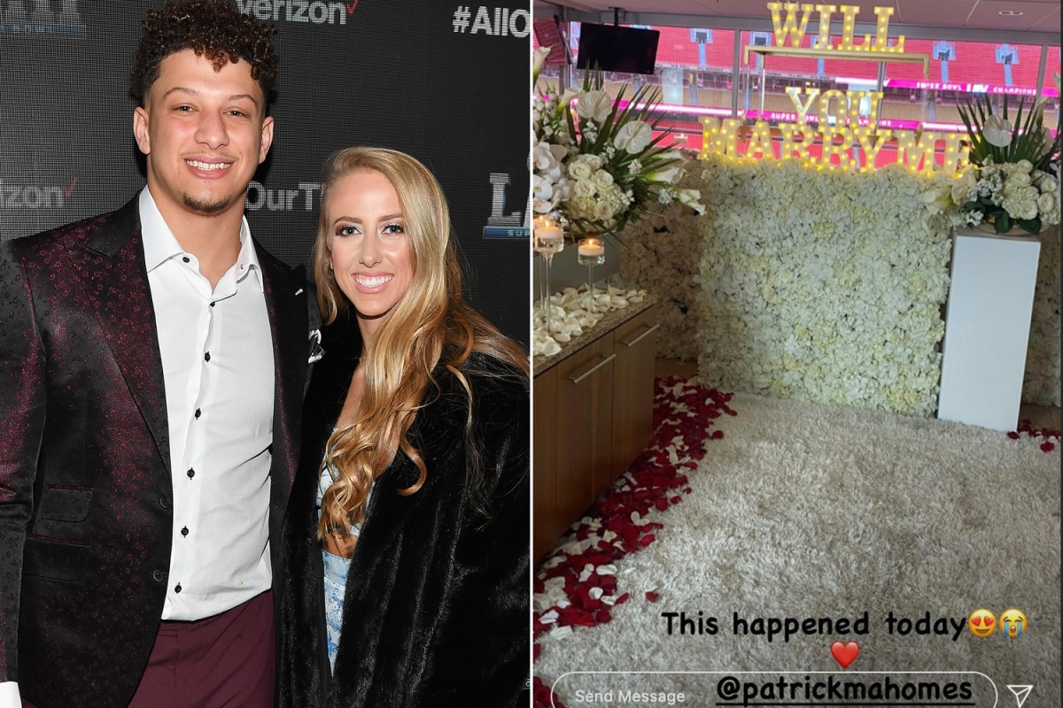 Patrick Mahomes got engaged after getting Chiefs Super ...