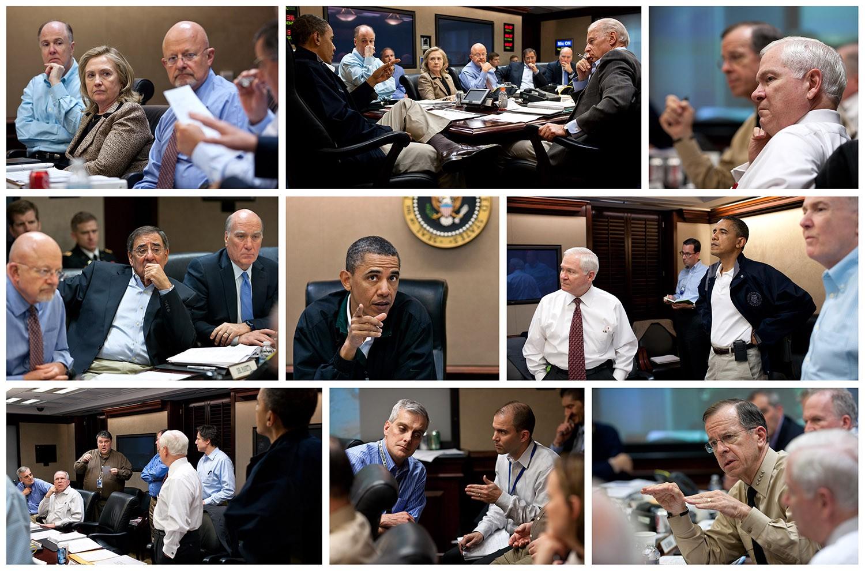 Photo Obama Clinton Bin Laden - Resenhas de Livros