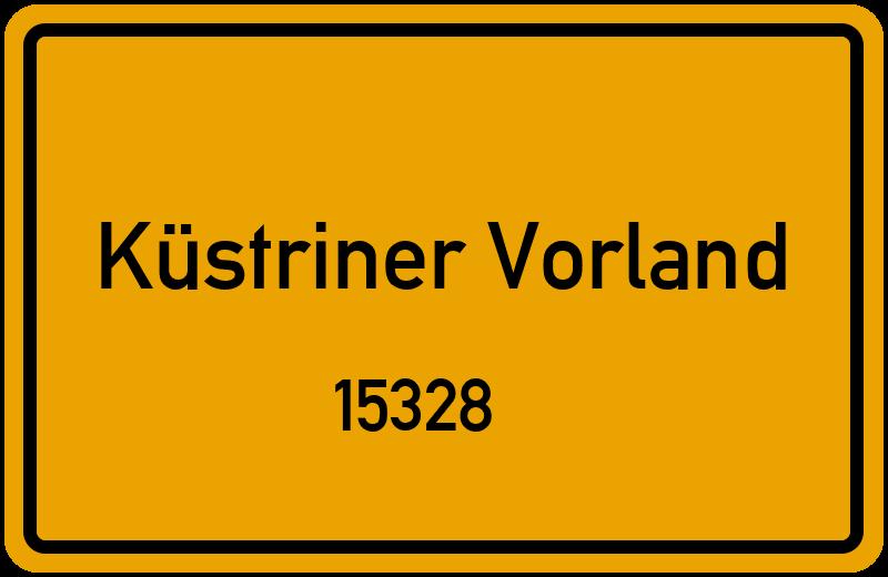 15328 Küstriner Vorland Straßenverzeichnis: Alle Straßen ...