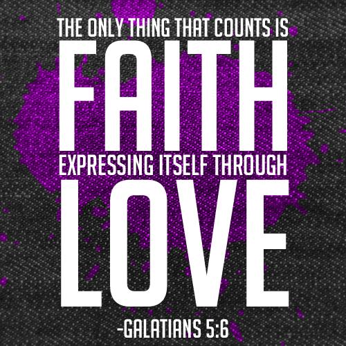 Galatians 5:6 by Treybacca on DeviantArt