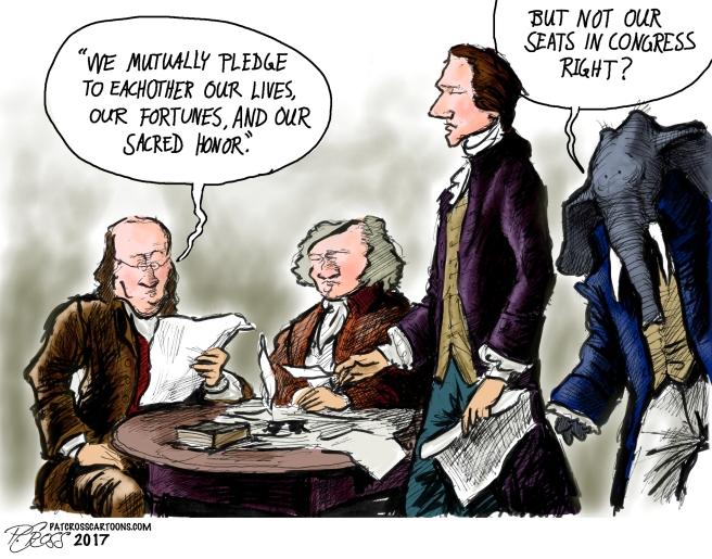 Pat Cross Cartoons | Because I enjoy Drawing, America, and ...