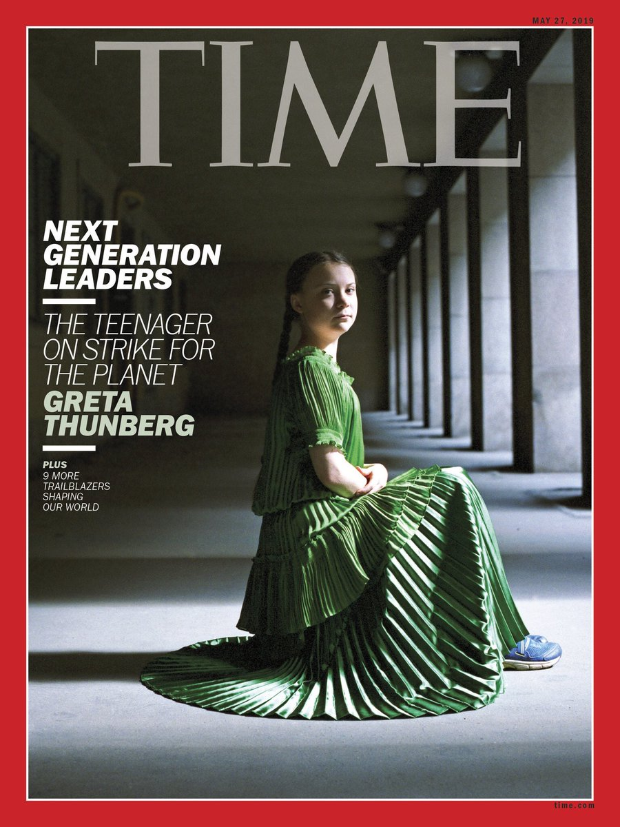 "Greta Thunberg on Twitter: """"Now I Am Speaking to the ..."