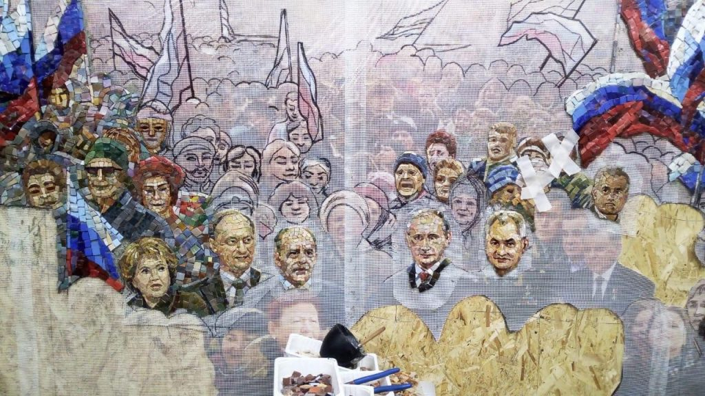 Russian Orthodox Church opposes Stalin mosaic in Moscow's new military church, Putin mosaic will not be featured either…