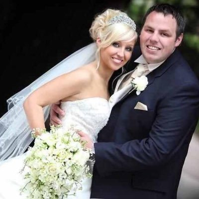 Adrian Lewis with Wife Sarah Lewis