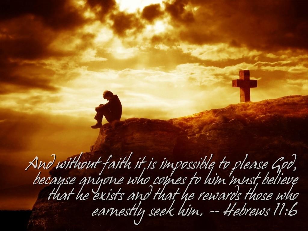 Hebrews 11:6 ~ Today's Bible Verse | News and Views