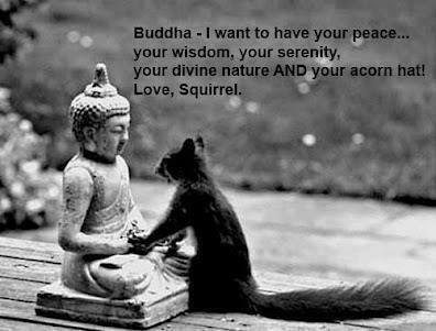 Buddha | The Pensive Squirrel