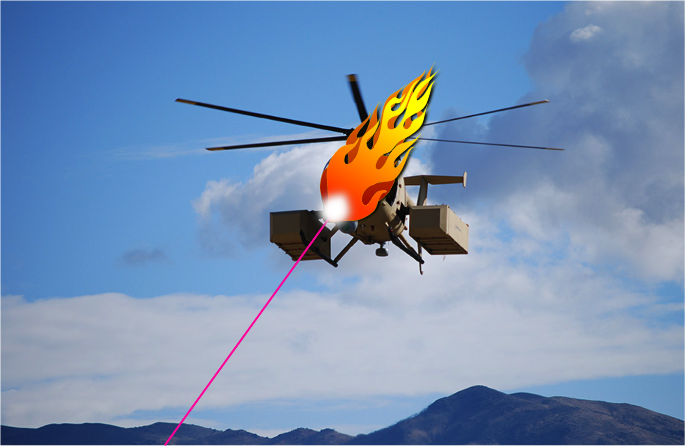 Drones vs. anti-drone laser cannons for fun and profit ...