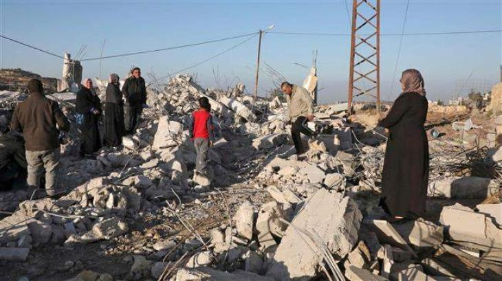 Israel Razed And Seized 617 Palestinian Structures Since January: UN Report - UrduPoint
