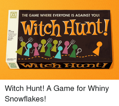A THE GAME WHERE EVERYONE IS AGAINST YOU Witch Hunt Ages ...