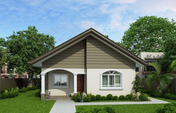 Carmela - Simple but still functional small house design ...