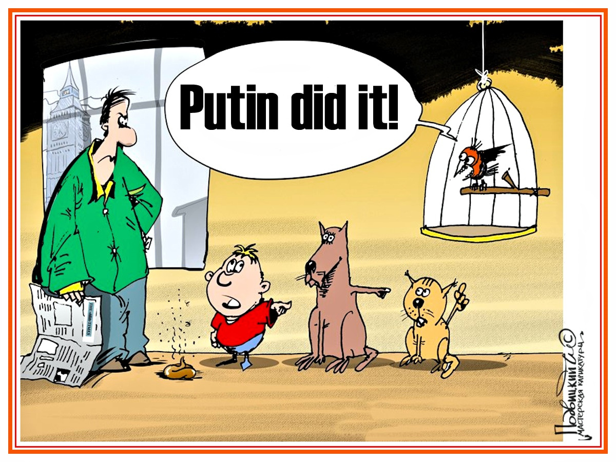 Guck & Horch: Das war Russiagate - Just Saying.