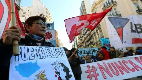 Argentina: Protests Against IMF As G20 Ministers Convene ...