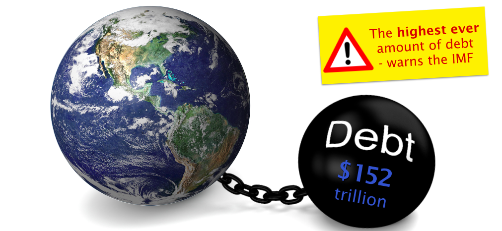 Global debt reaches $152 trillion - We need an alternative ...
