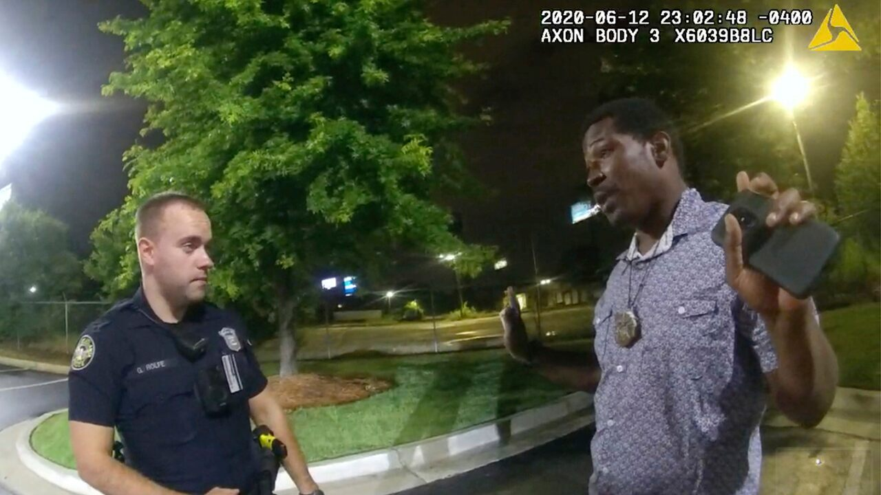Rayshard Brooks killing: Former Atlanta Officer Garrett Rolfe charged with murder, could face death penalty…