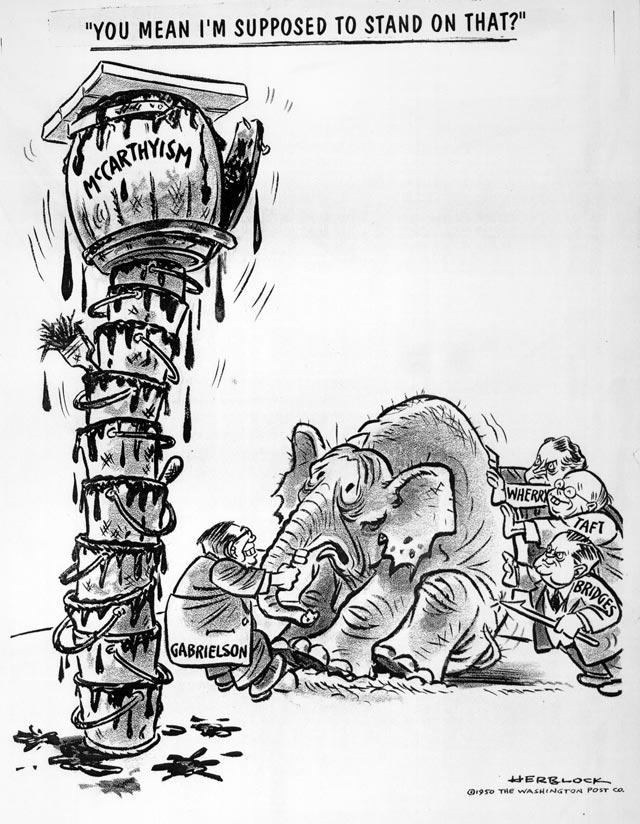 Political Cartoons   Joseph Raymond McCarthy   MTSU   HIST ...