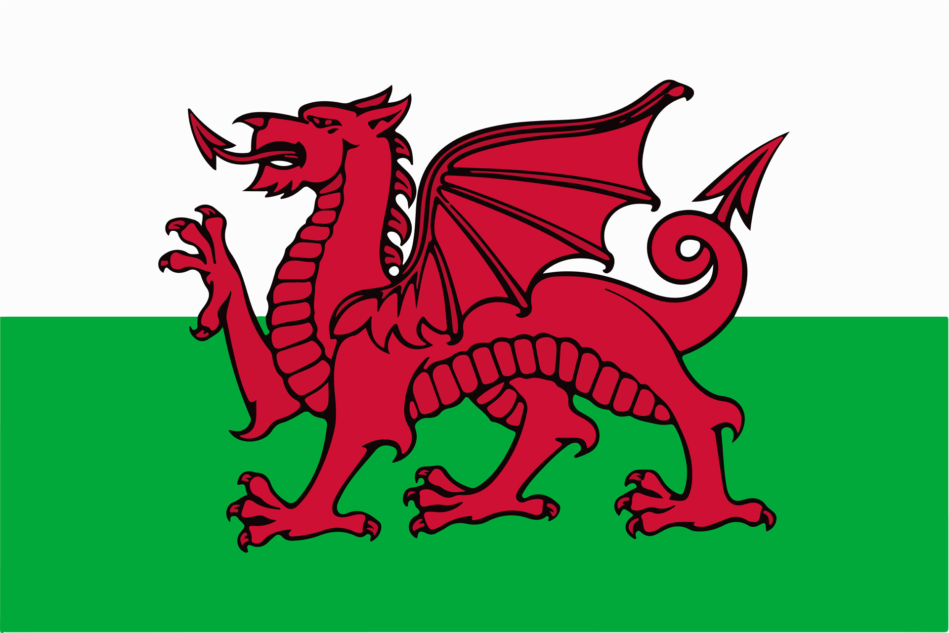 Welsh Flag Free Stock Photo - Public Domain Pictures