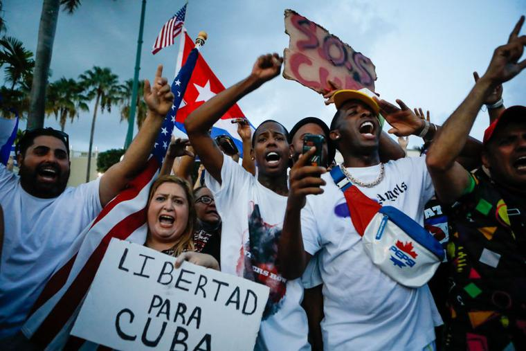 Priest Beaten, Arrested Amid Cuba Protests | Catholicism Pure & Simple