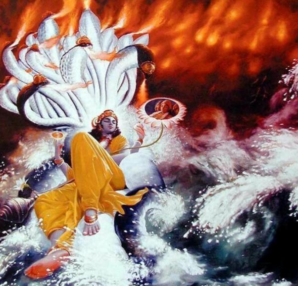 Why does Vishnu sleep on snakes? - Quora