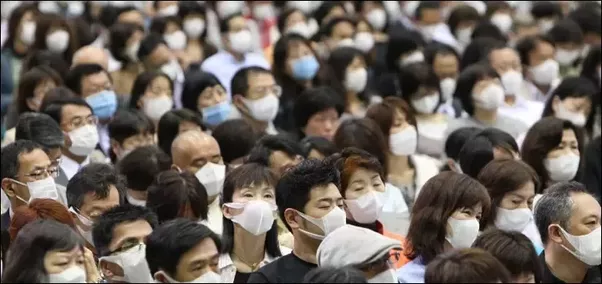 Where do Japanese people get the surgical masks that they ...