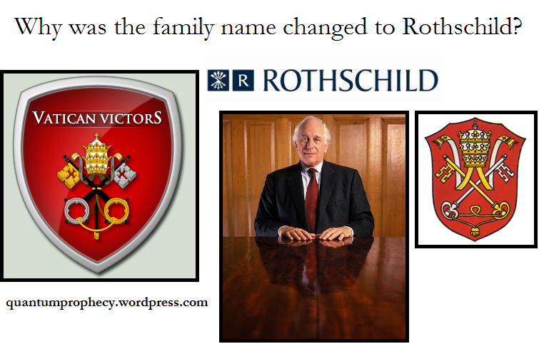 The Rothschild name change and their subservience to the ...