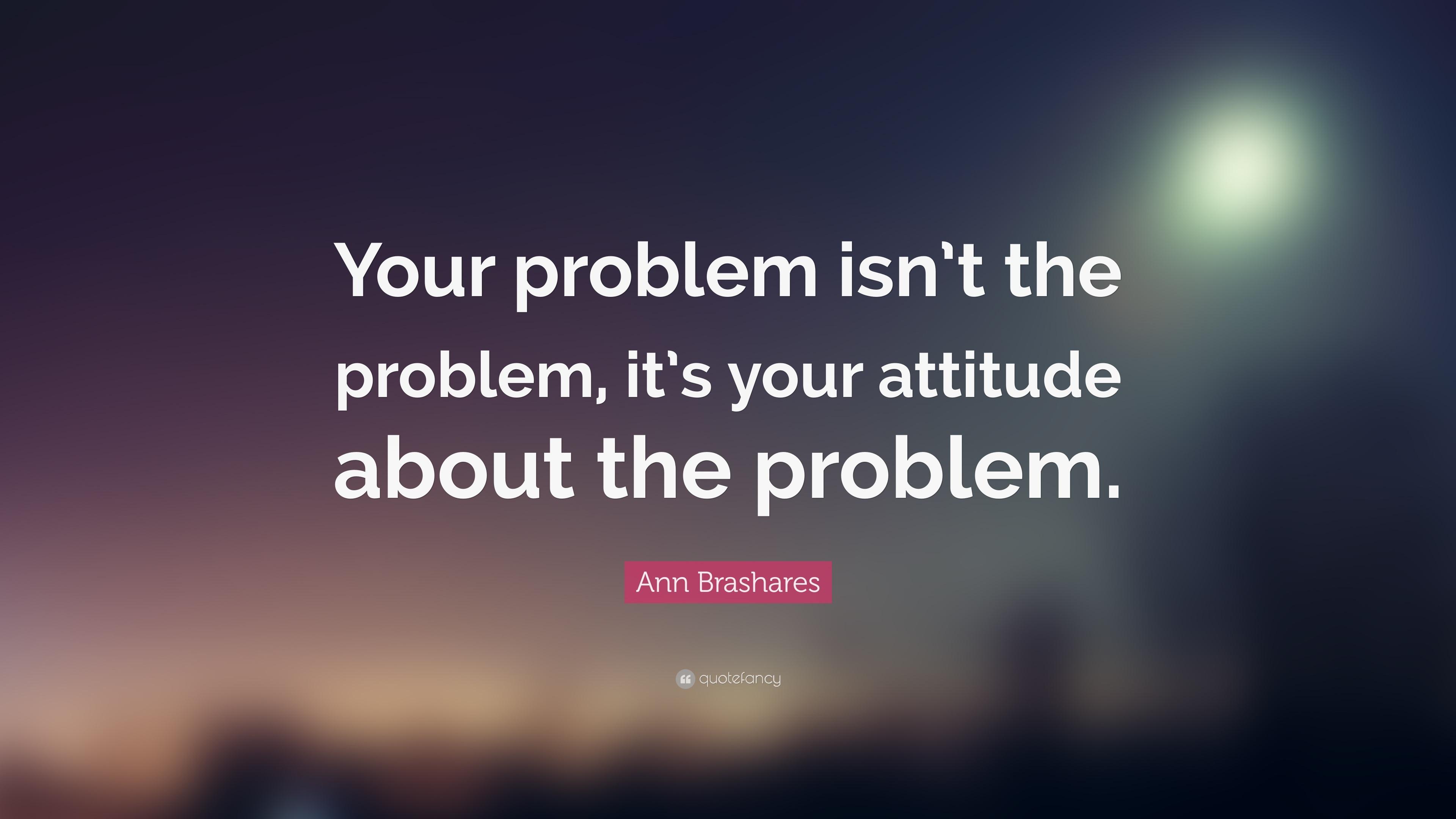Problem attitude superiority complex