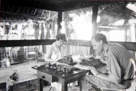 Bateson and his partner, Margaret Mead