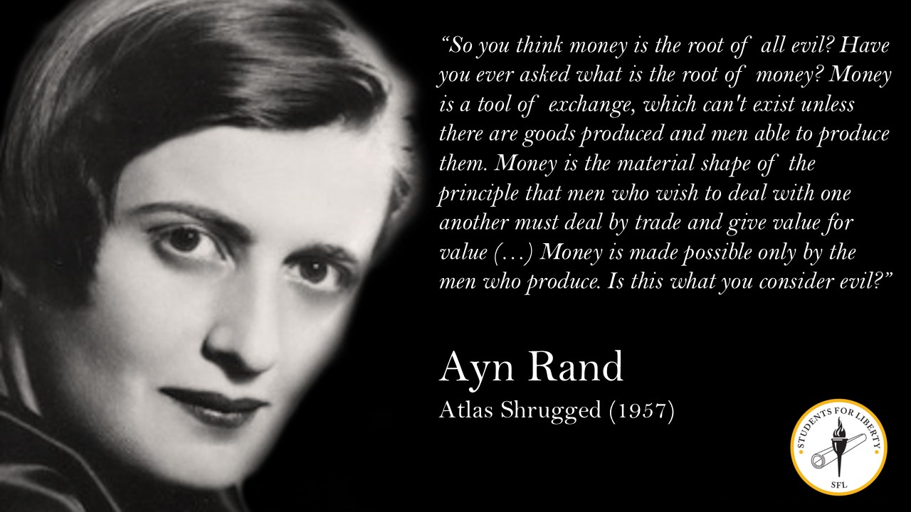 Ayn Rand — Atlas Shrugged — Videos | Pronk Palisades