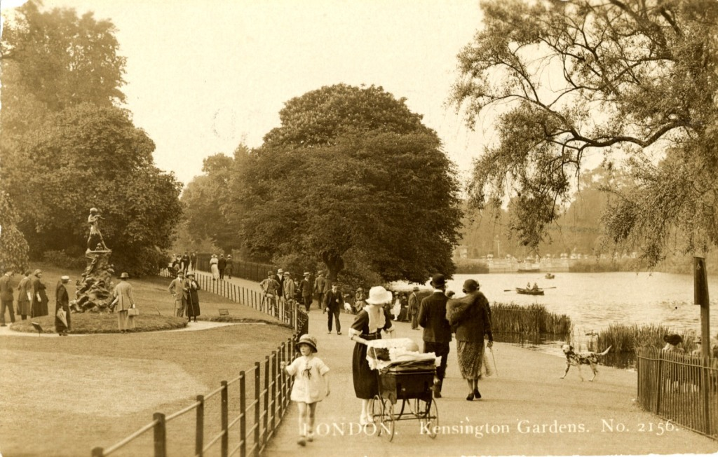 Kensington Gardens – a secret life of postcards special ...