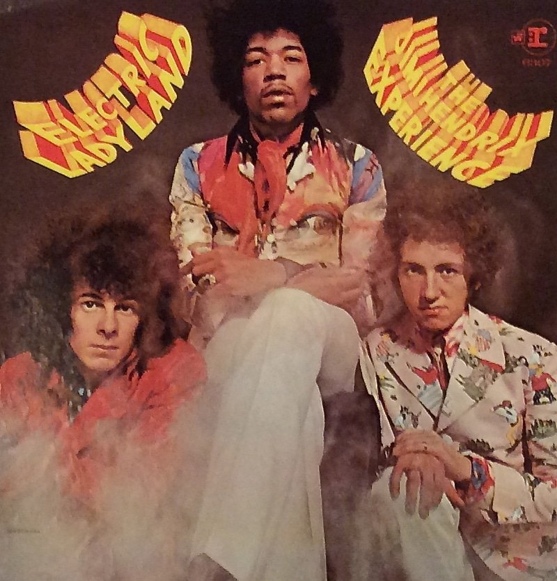 Jimi Hendrix Experience – Original Artwork For Alternate ...