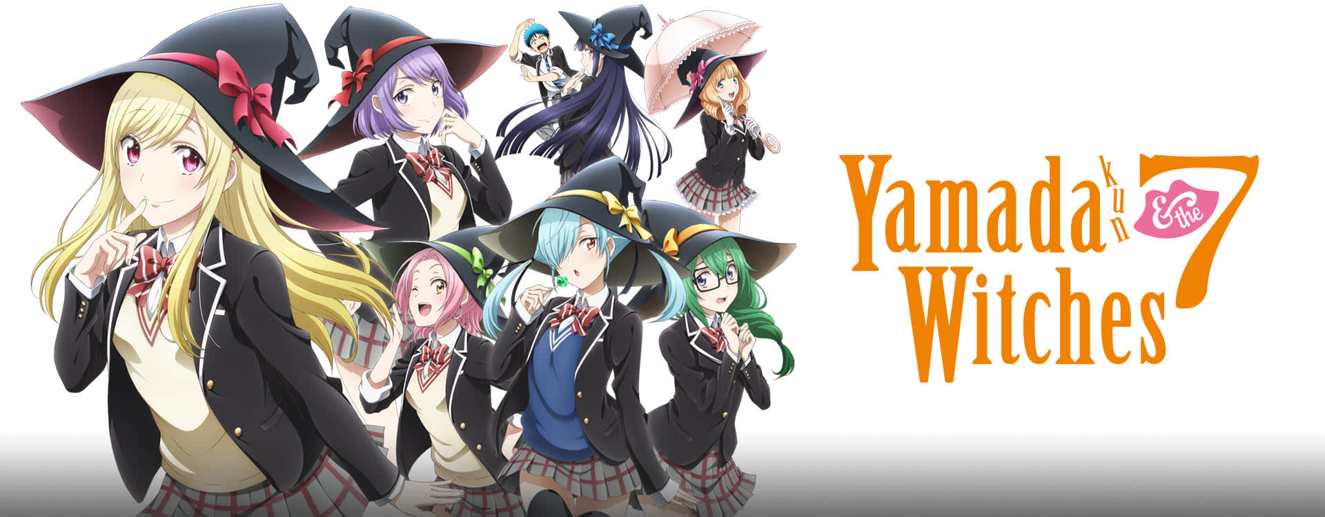 Ani-One Streams Yamada-kun and the Seven Witches Anime on YouTube