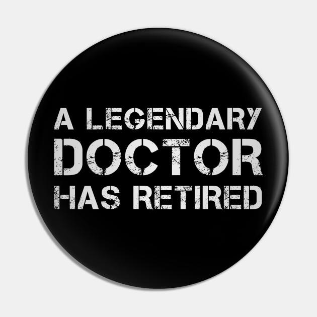 Retired MD Doctor Retirement Gift Idea Retiring - Doctor ...