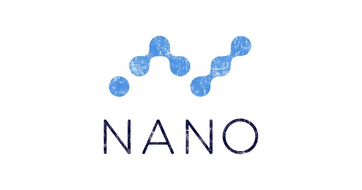 Vintage NANO Coin Cryptocurrency - Nano Coin ...