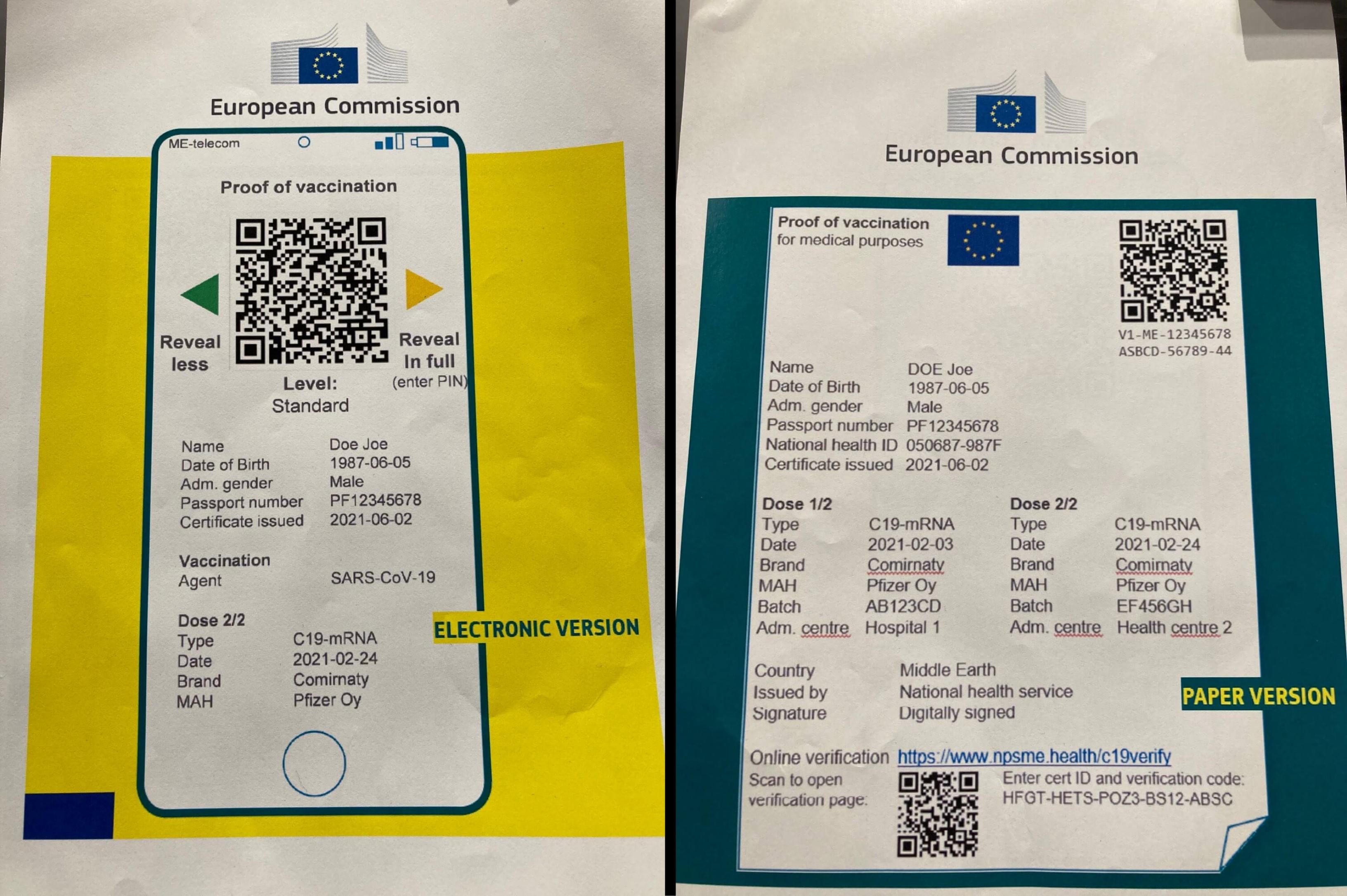 Vaccine Passport EU 2021 - Everything You Need To Know ...