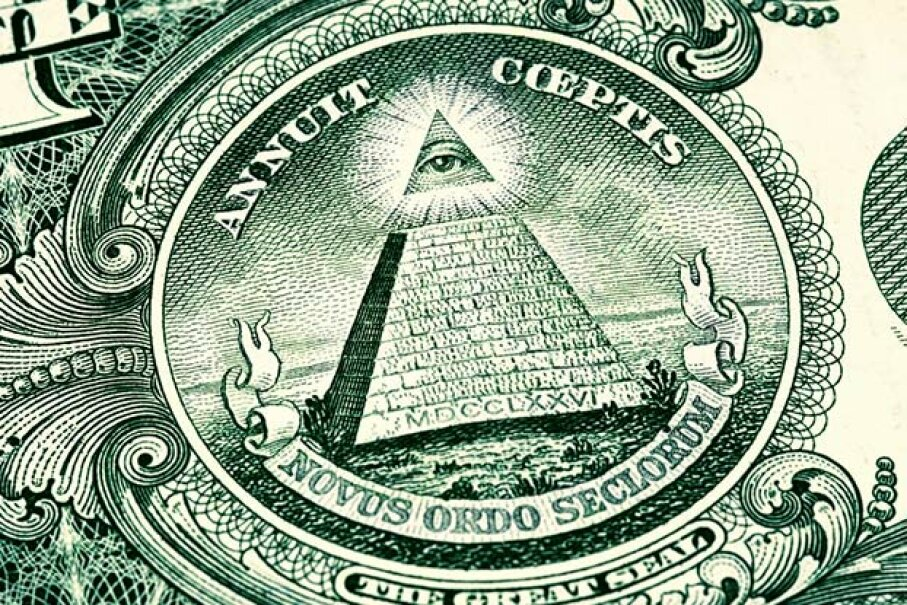 6: The U.S. Dollar Bill Contains Illuminati Symbols - 10 ...