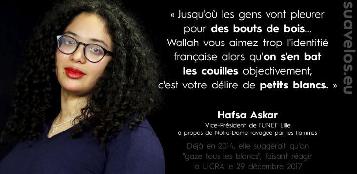 France. Hafsa Askar, vice-présidente de l'Unef « On ...