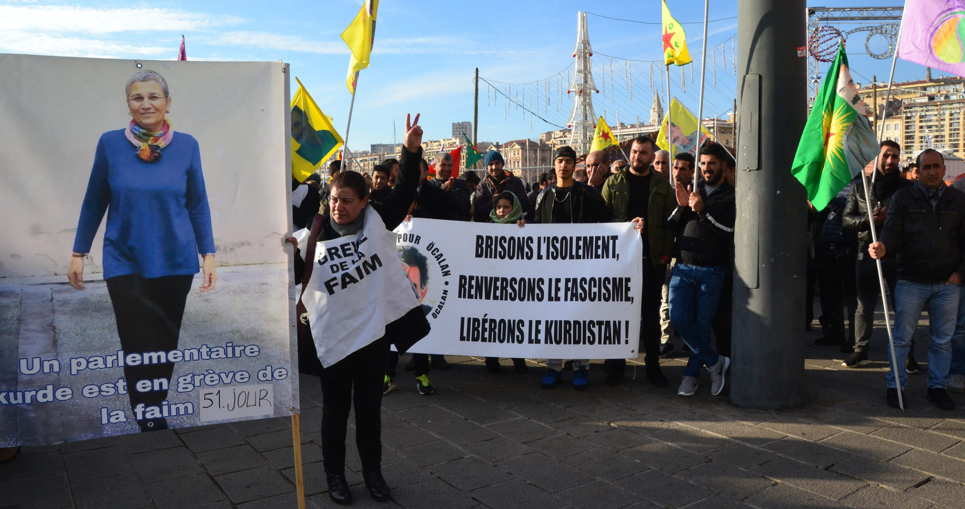 """Kurdish MP on hunger strike prepared to """"protest to the ..."""