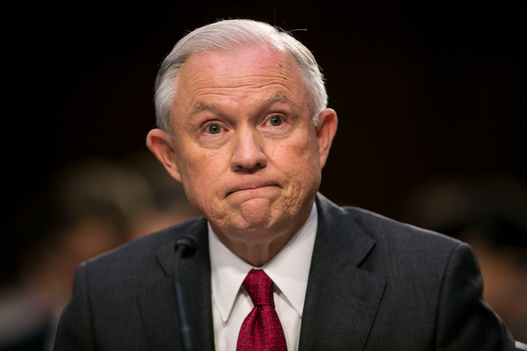 Jeff Sessions letter to Alabama on recusal and President Trump…
