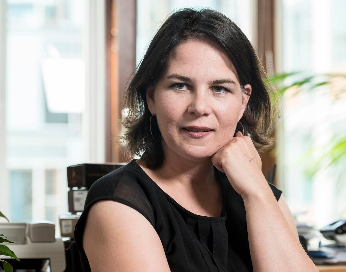 Grünen-Chefin Annalena Baerbock im Interview
