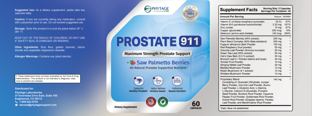 Prostate 911 Review - Support for Prostate Glands ...