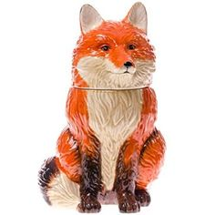 Red Fox Cookie Jar by michelled1953 on Pinterest | Red ...