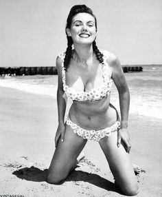 1950's Beach Party on Pinterest | Vintage Swimsuits, 1950s and ...