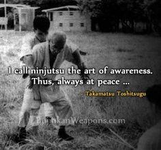 ... of Togakure-ryu. - Takamatsu Toshitsugu http://bujinkanweapons.com