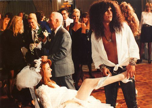Slash & Renée Suran | Rock&Roll Weddings | Pinterest ...