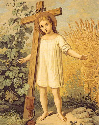 Child Jesus/ Cross 8x10 | DEVOTIE | Pinterest | Crosses, Children and Jesus